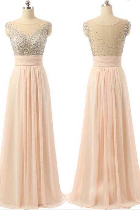 Prom Dress,Long Prom Dresses,Formal Evening Dress,Evening Gown,Chiffon Prom Gown,Shinning Dresses