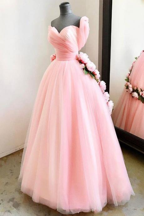 Pink Sweetheart Dress, New Style Prom Dress,Long Formal Dress,Formal Occasion Dress, Formal Gowns,Party Formal Dress,Custom Formal Dress