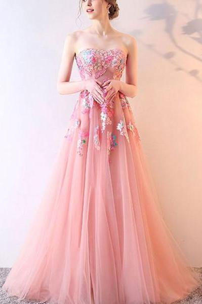 Stylish Tulle Lace Dress, Long Prom Dress, Lace Evening Dress,Backless Lace Long Prom Dress,Custom Prom Dress