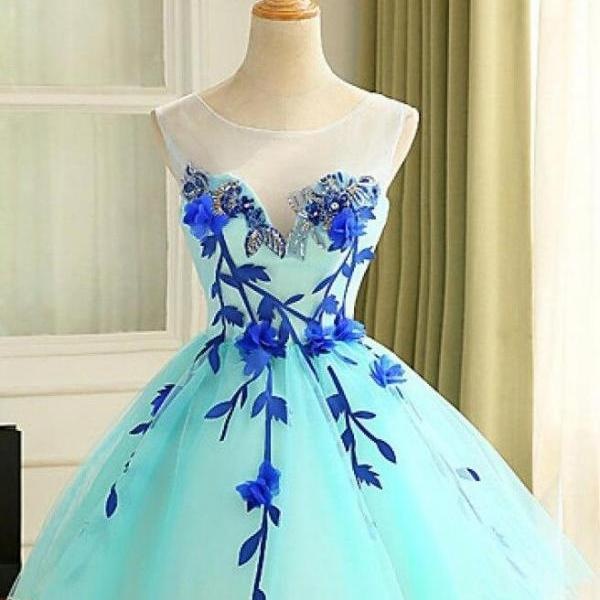 Beauty Homecoming Dress,Short Tulle Prom Dress,Short Homecoming Dress,Girl Party Gowns,Custom Dress